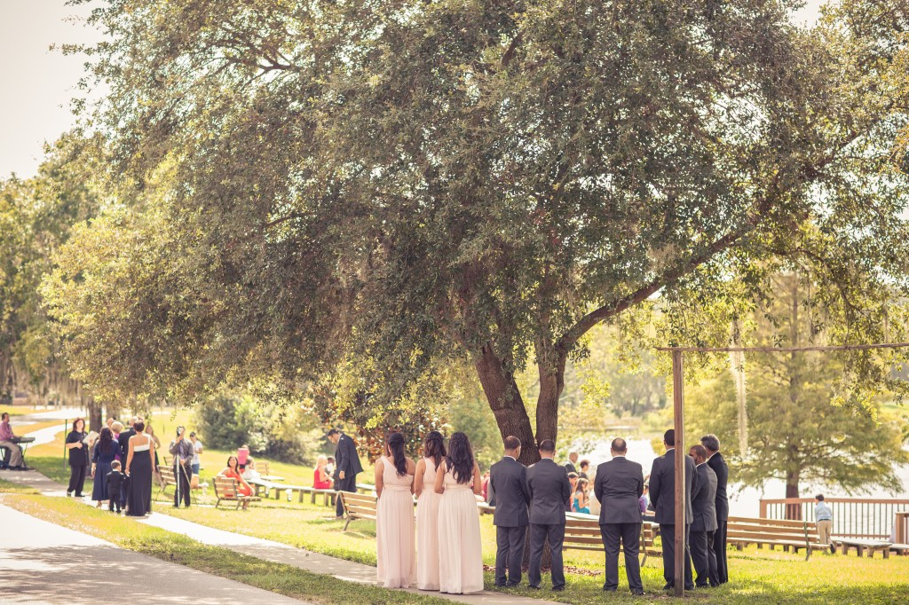 Pastel Wedding at the Maitland Art Center