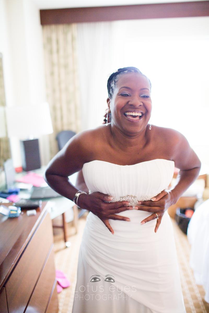 Orlando Bride Getting Ready