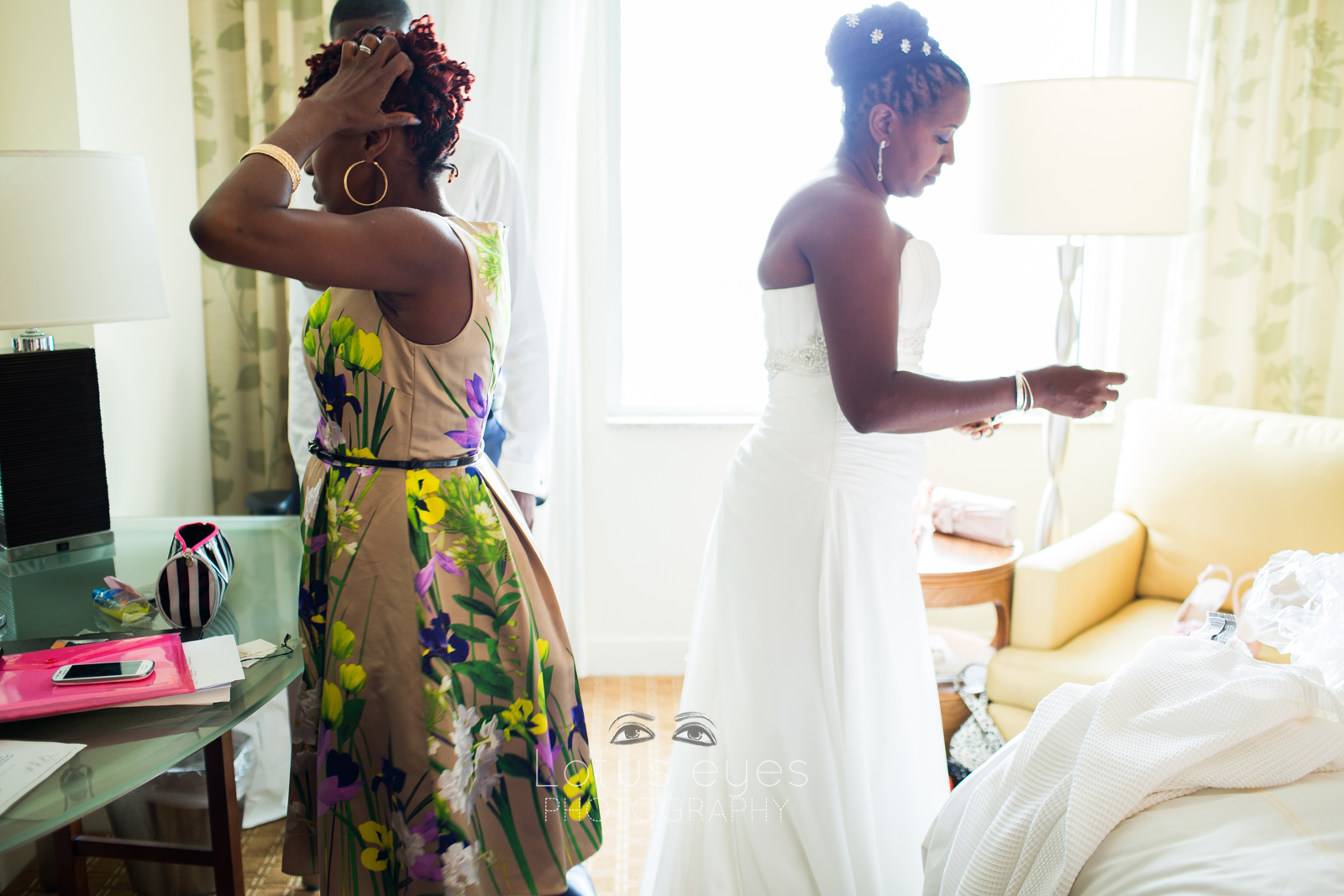 Orlando Bride Getting Ready Pictures