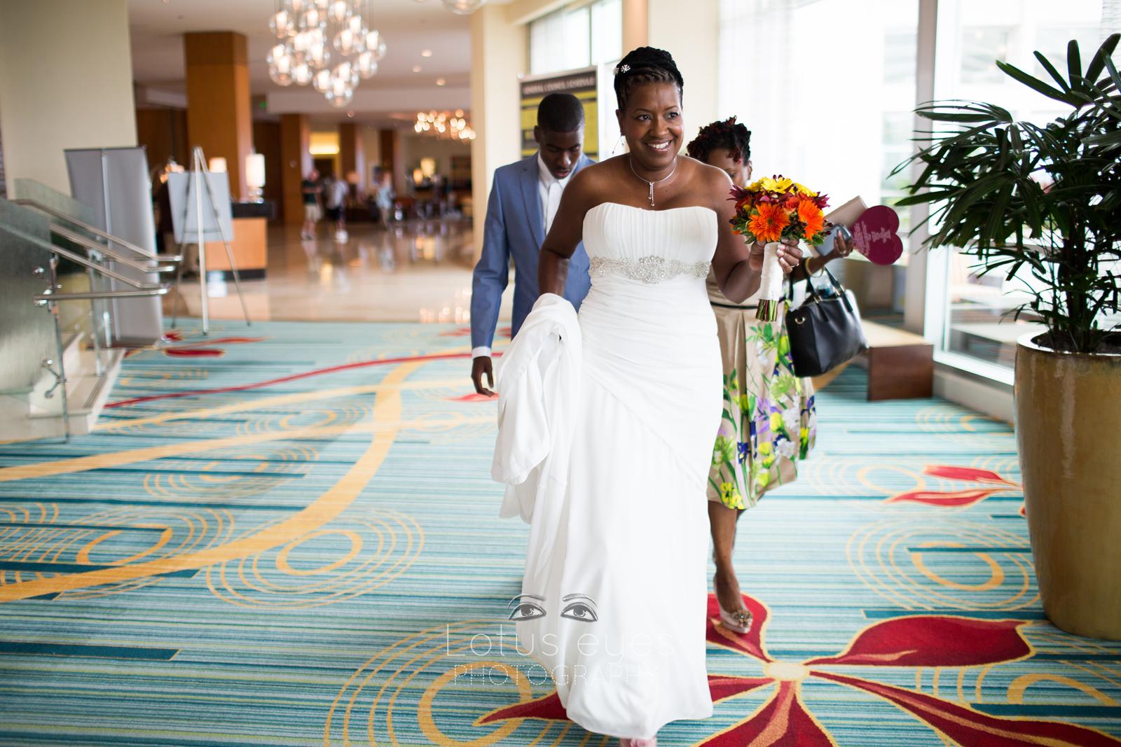Hilton Orlando Bride