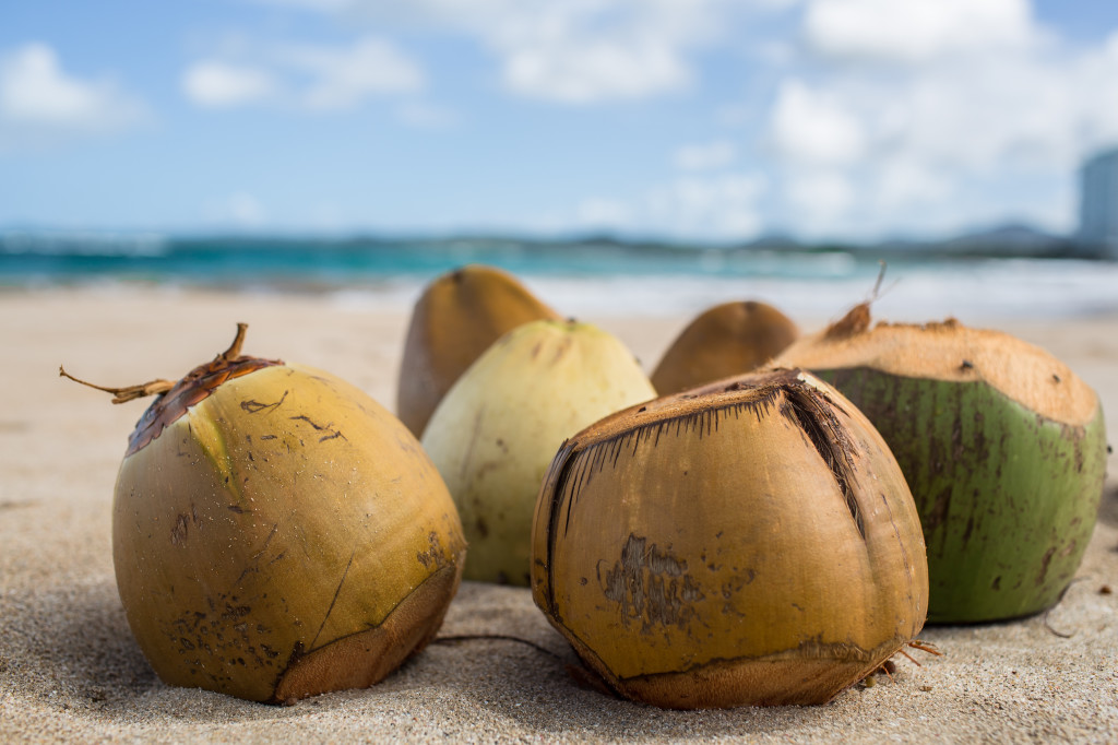 breakfast everyday- coconuts!