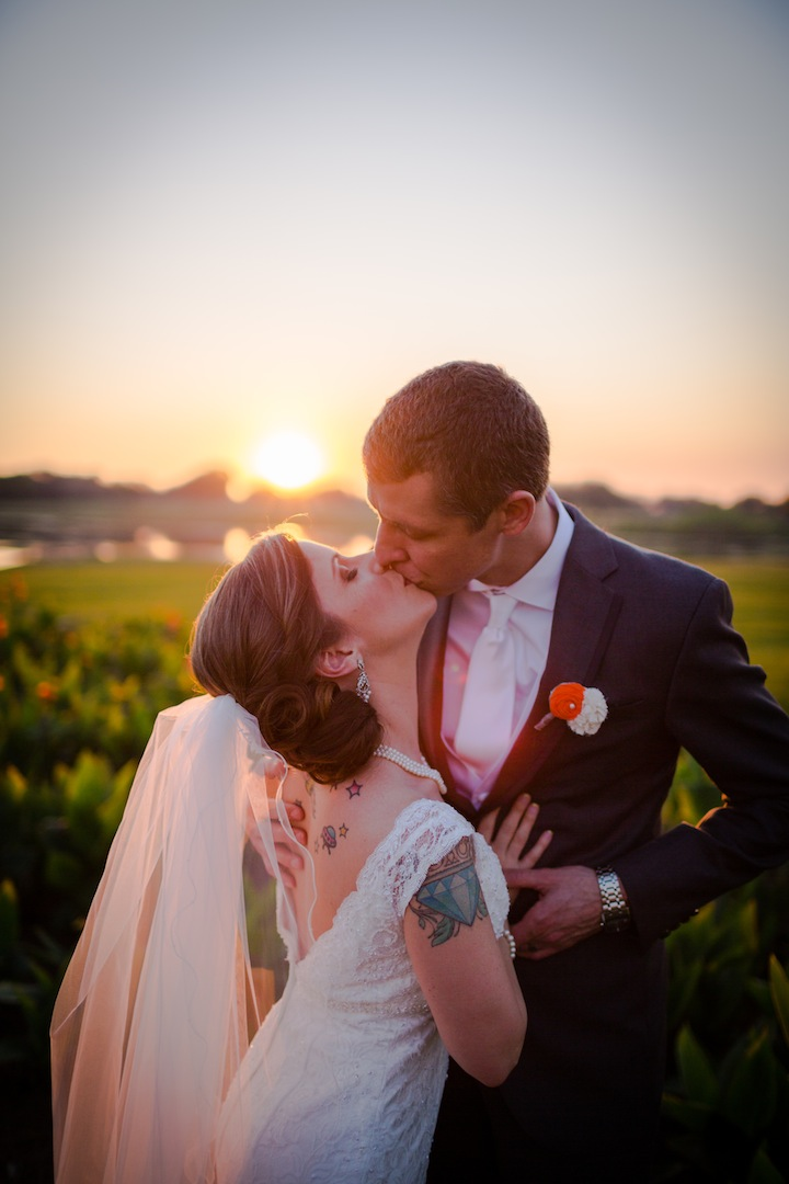 Cindy and Ian's stunning wedding at the Mission inn Resort