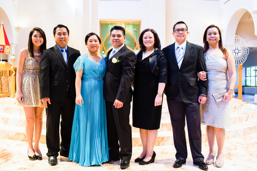Mary Queen of the Universe Wedding photographer