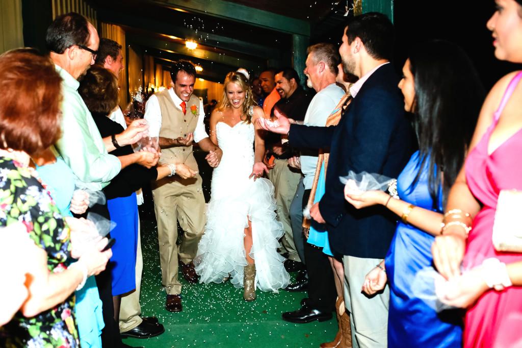 Orlando Wedding Exit