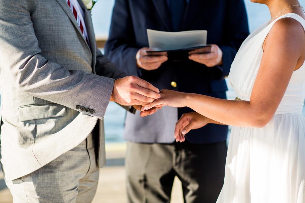 Baldwin Park Wedding Ceremony Photography