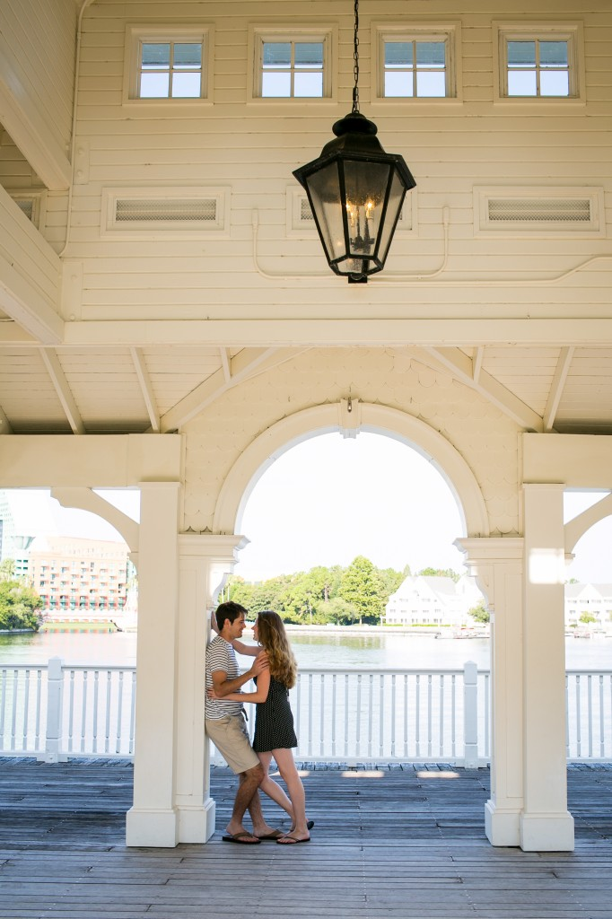 Disney's beach club Villas Engagement Session