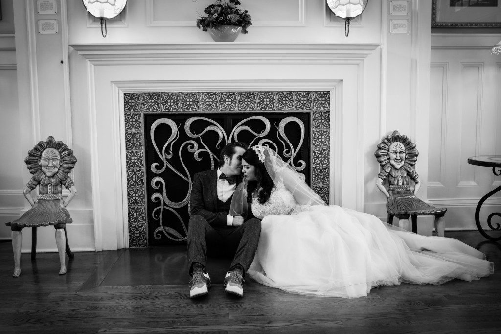 Husband and wife wedding photographer