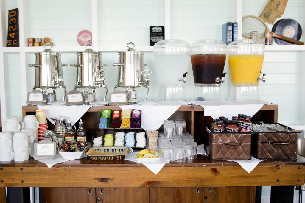 wedding juice bar