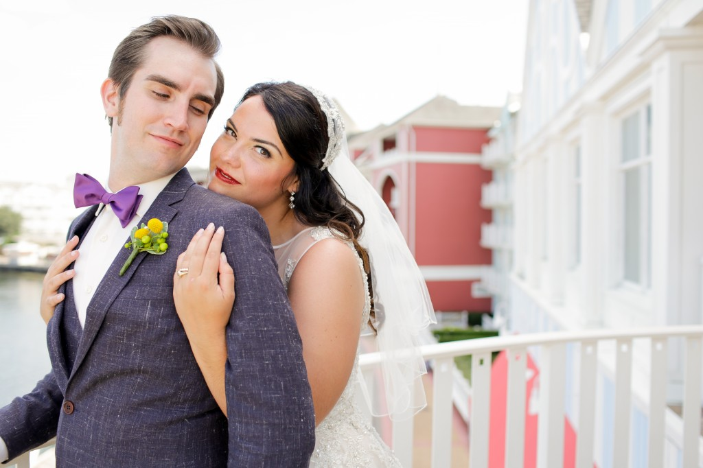Vintage wedding at Disney's Boardwalk