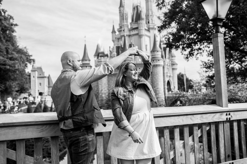 Magic Kingdom Engagement Photographer