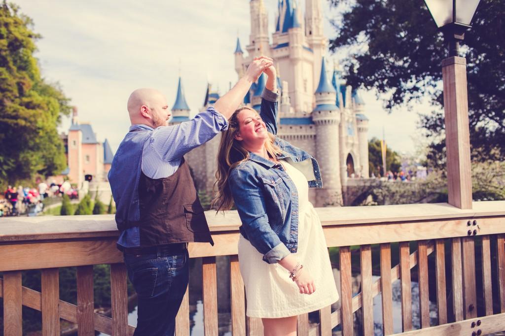 Magic Kingdom Engagement Photographer