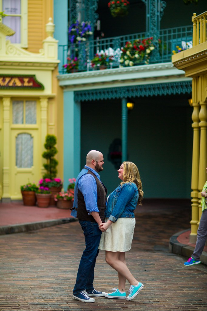 Magic Kingdom engagemen