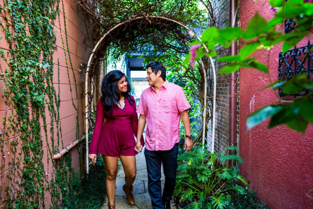 Kraft Azalea Winter Garden Engagement Photography