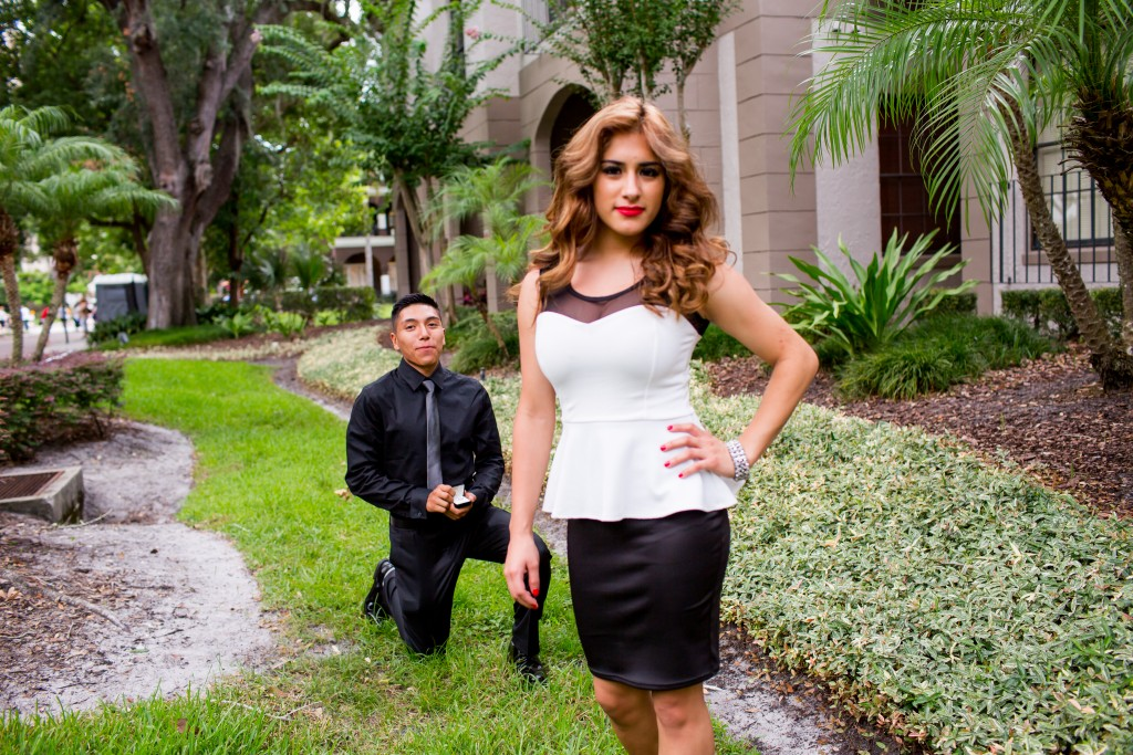 Best engagement photographer in Orlando