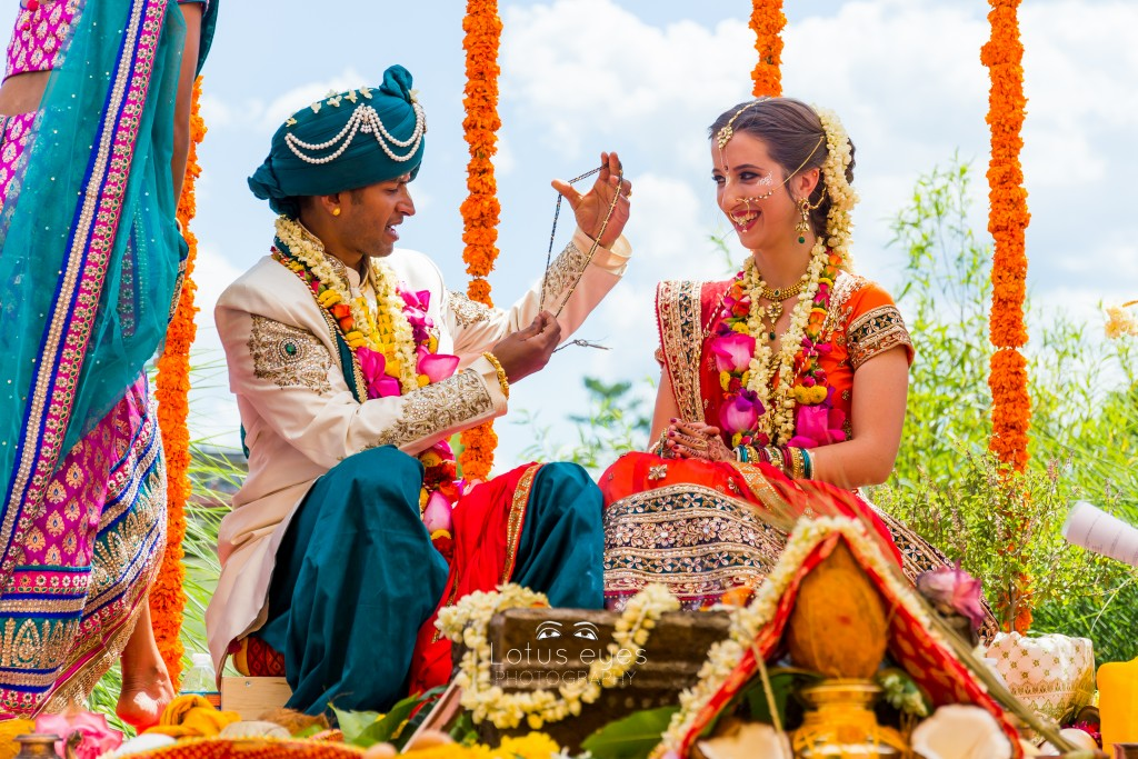 Indian wedding at the Palace of Gold, New Vrindaban