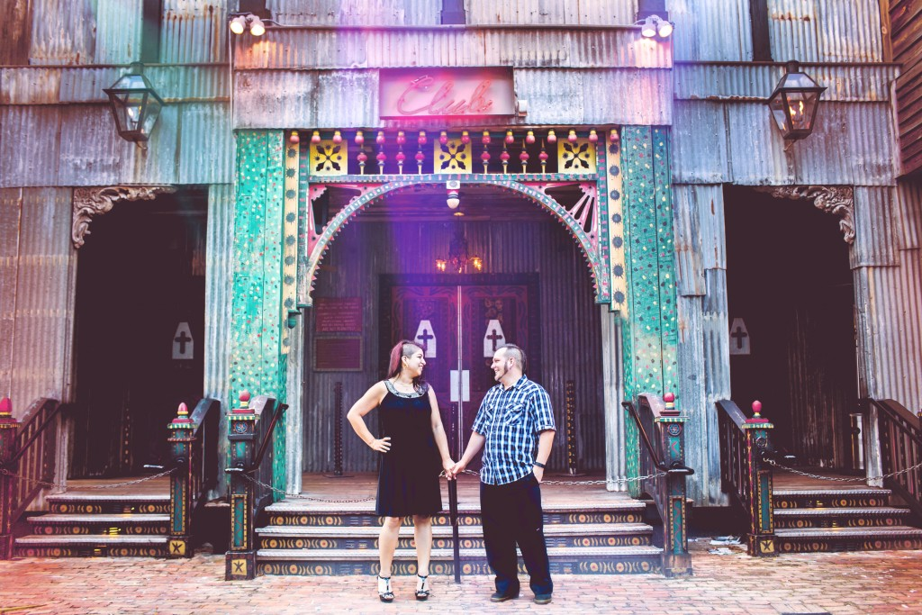 Disney Springs Engagement Photography