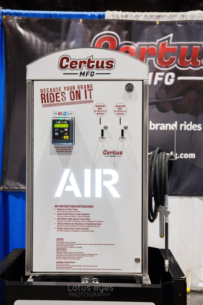 Product photography for Certus Air Machine