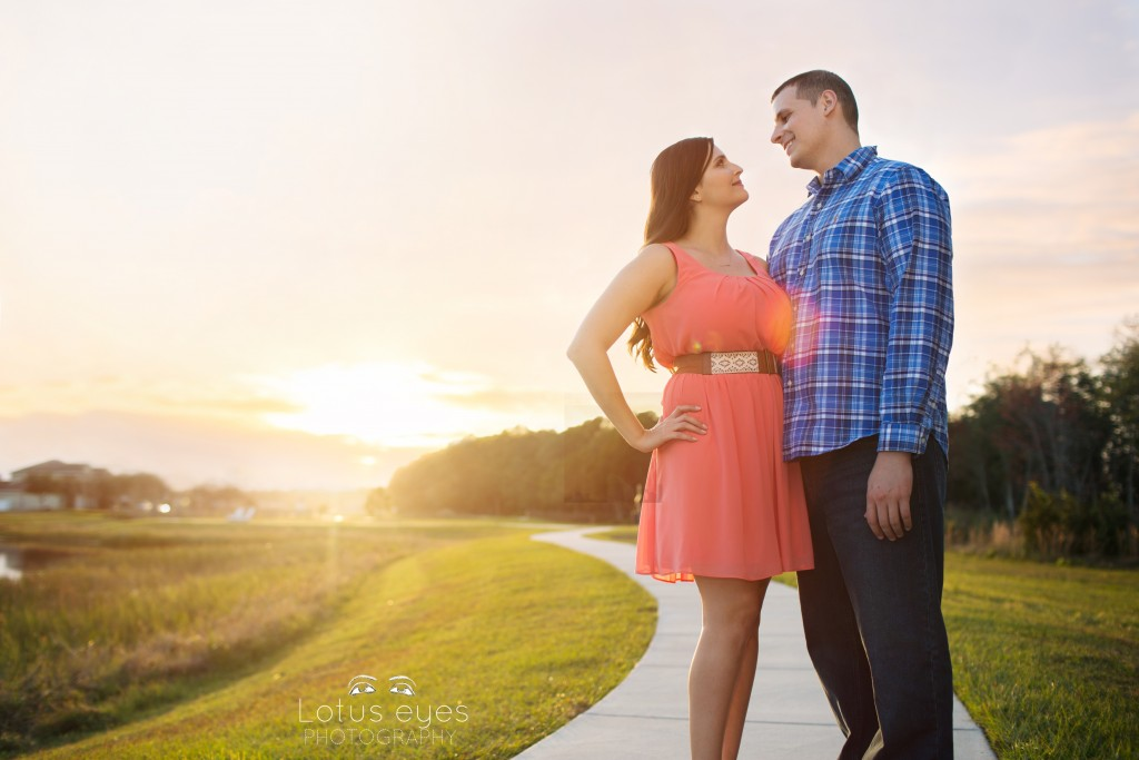 artistic engagement photographer in orlando