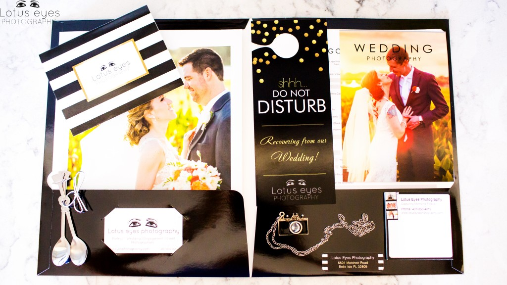 "This is our basic Welcome packet. We also have a larger packet for larger weddings and usually include a cute ""Love"" related gift."
