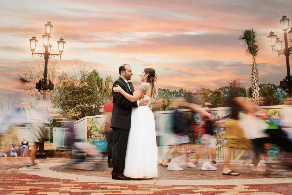 Disney Springs Wedding Photography