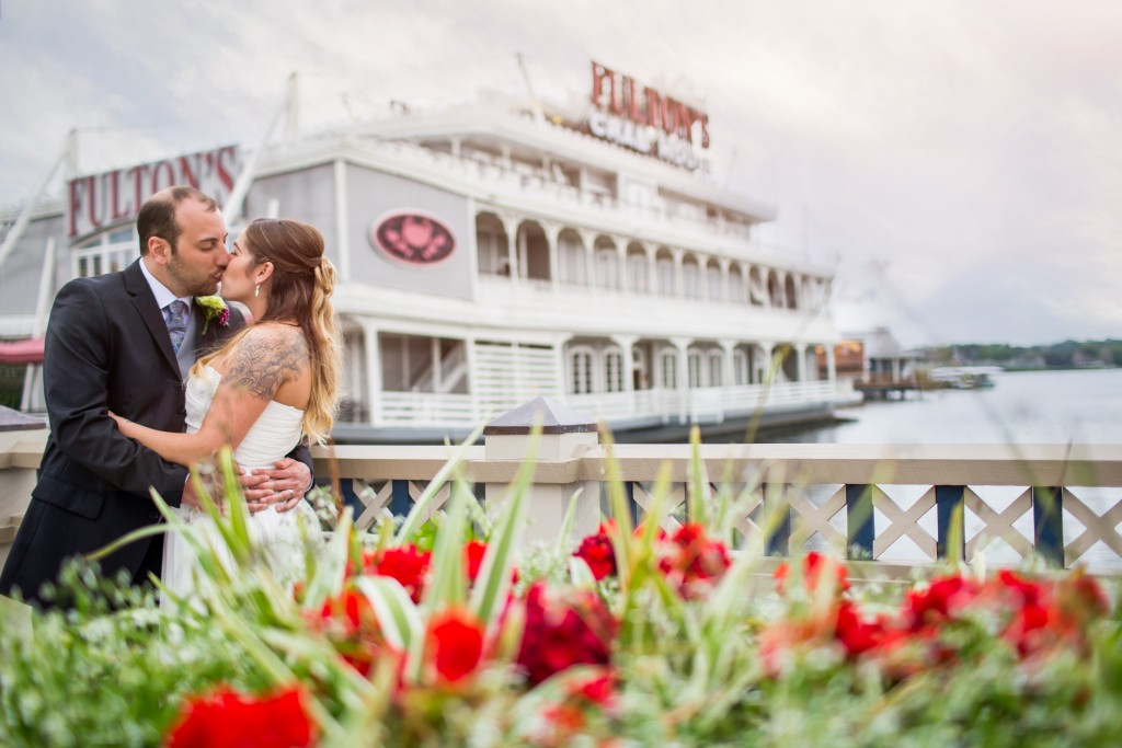 Intimate Wedding Photography at Fulton's Crab House