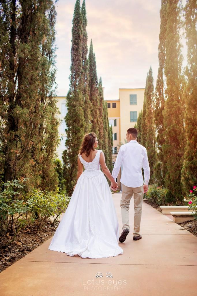 Loews Portofino Bay Hotel Wedding photography