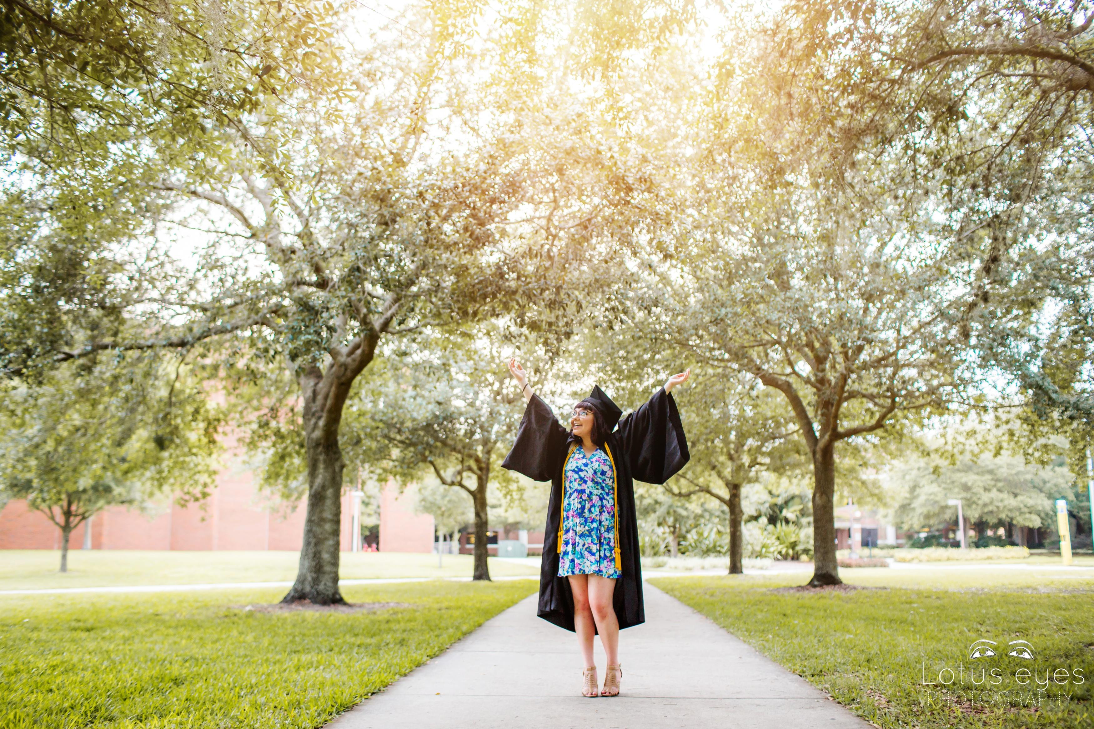 Nicolette S Ucf Graduation Senior Photography