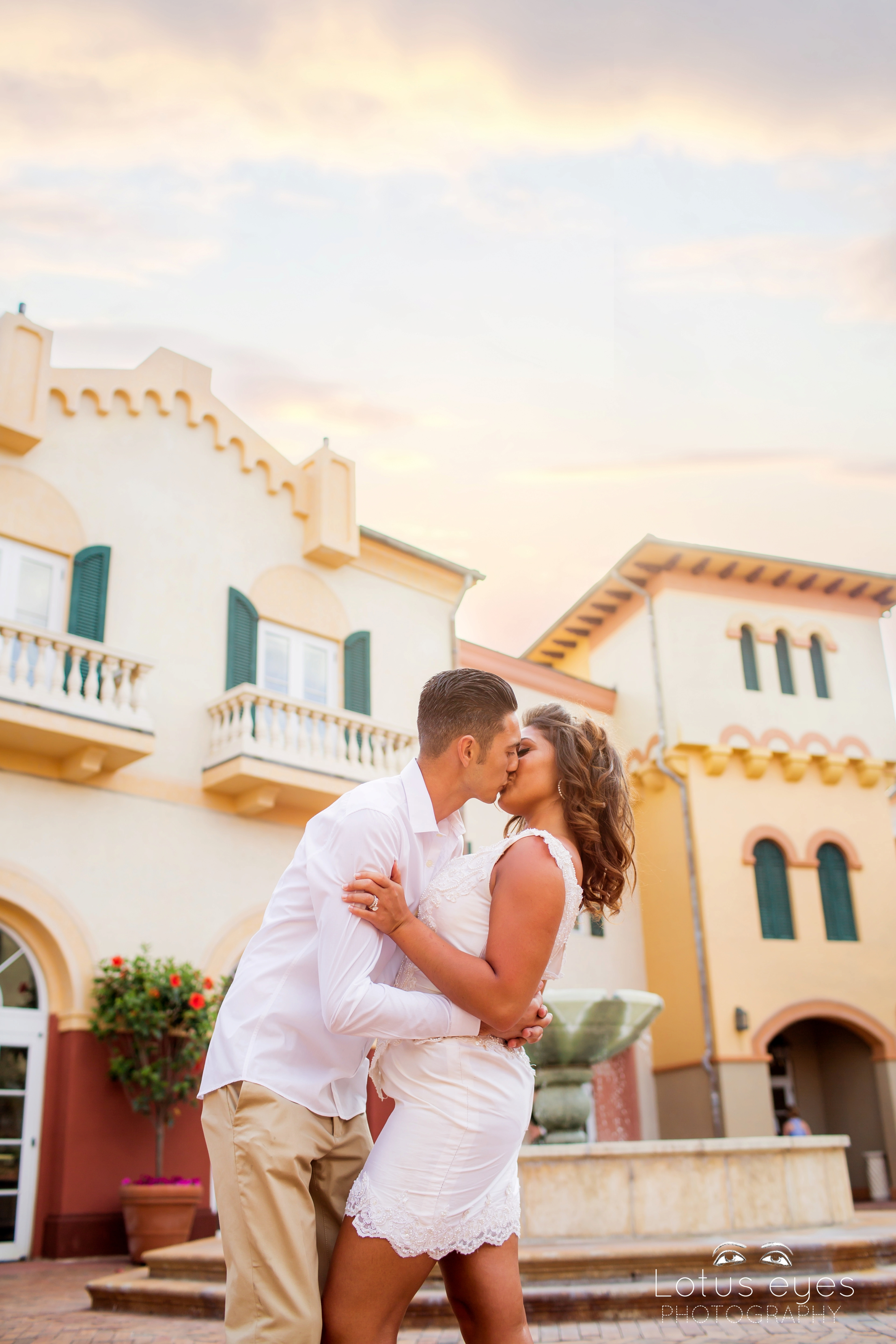 wedding photography at loews portofino bay hotel