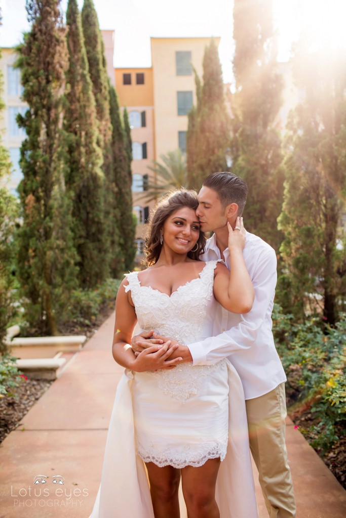 Wedding Photography at Loews Portofino Bay Hotel 3