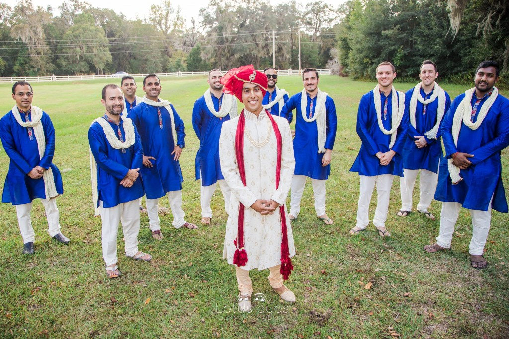Balaram and Radhika's Indian Vedic Wedding at ISKCON Alachua temple