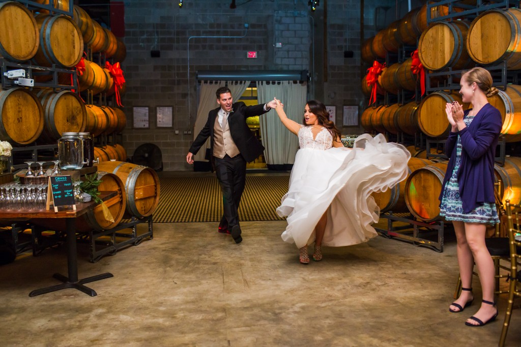 Quantum leap winery wedding photographs