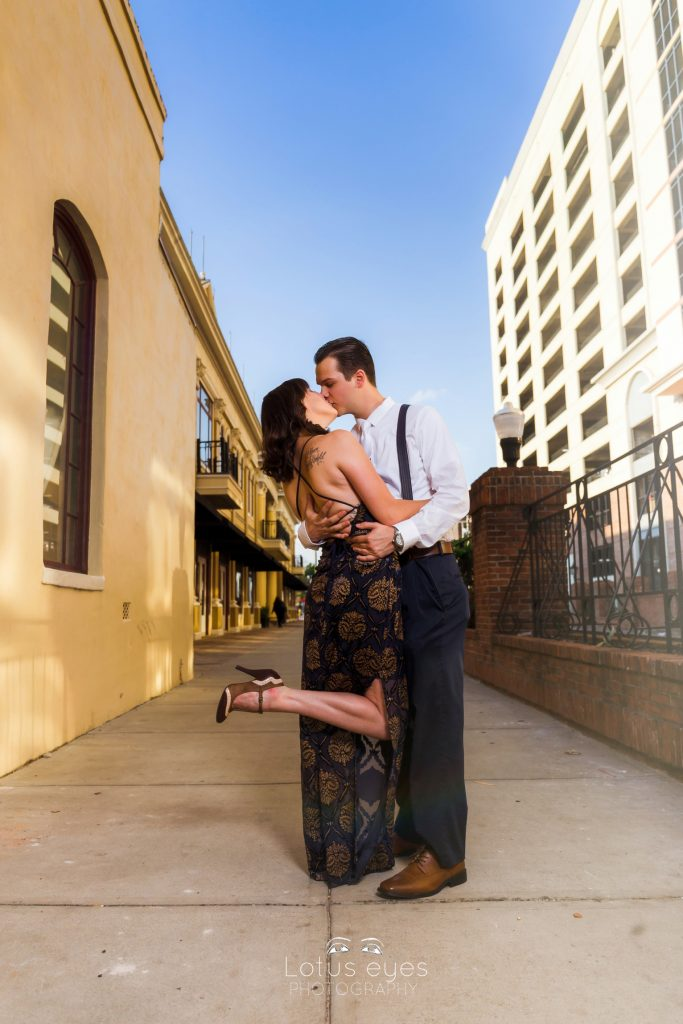 Downtown Church Street Engagement Photography
