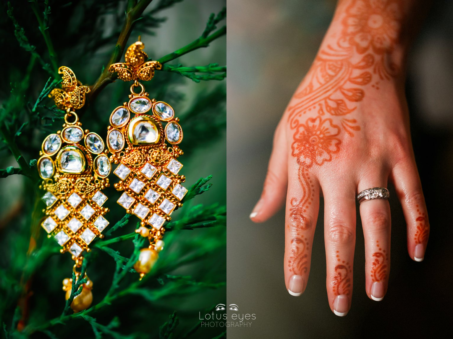 Indian Wedding Photography at ISKCON Temple