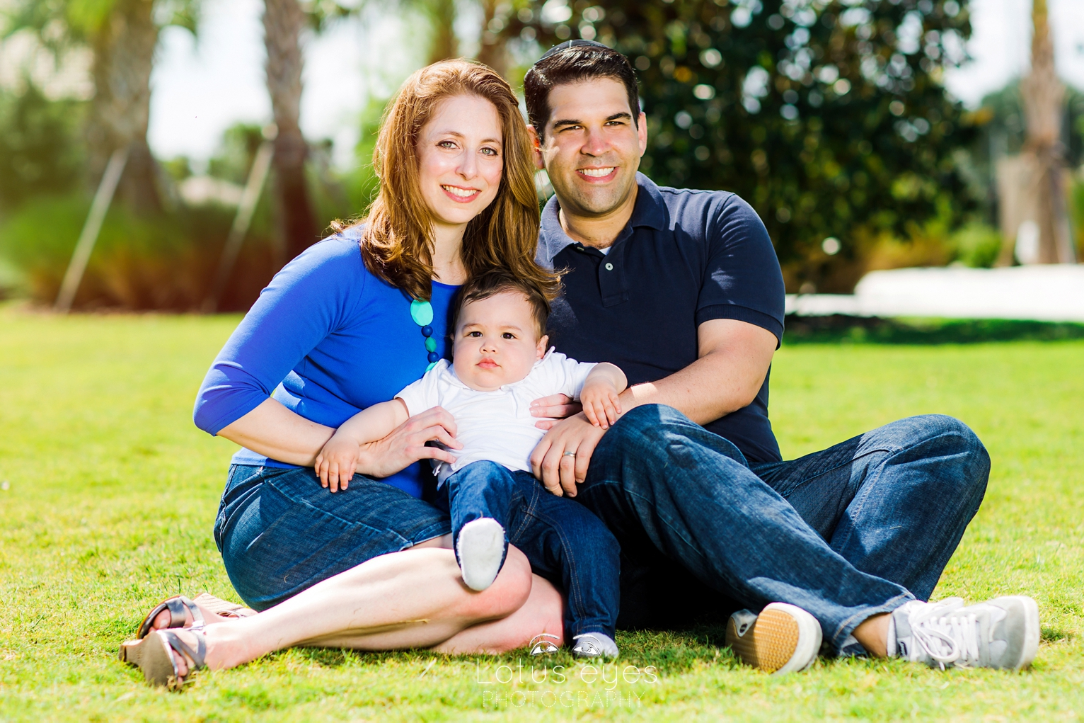 Family portrait session in Kissimmee