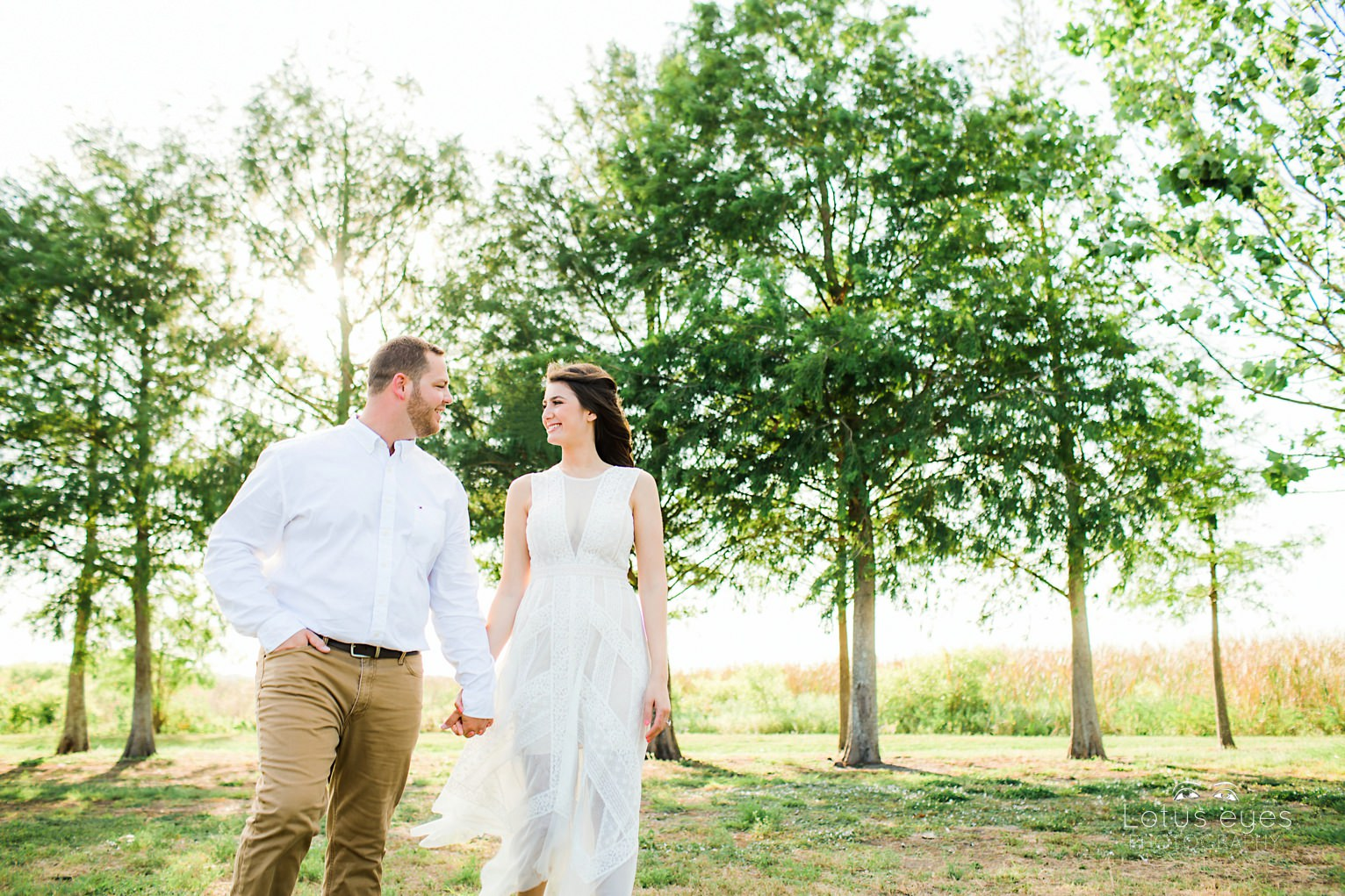Outdoor Themed Engagement Session