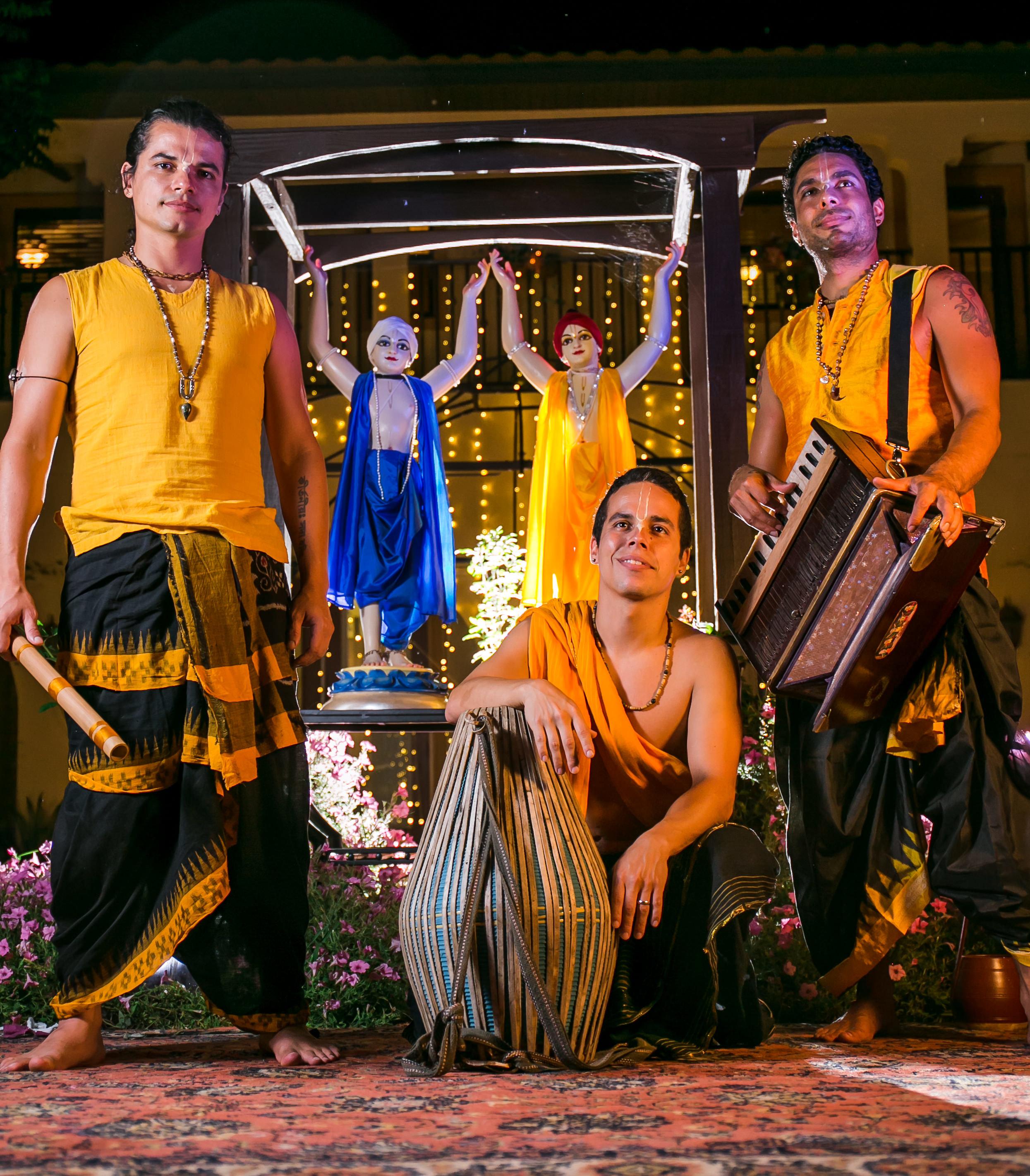 CD Cover Shoot for Mayapuris New CD 9 Islands