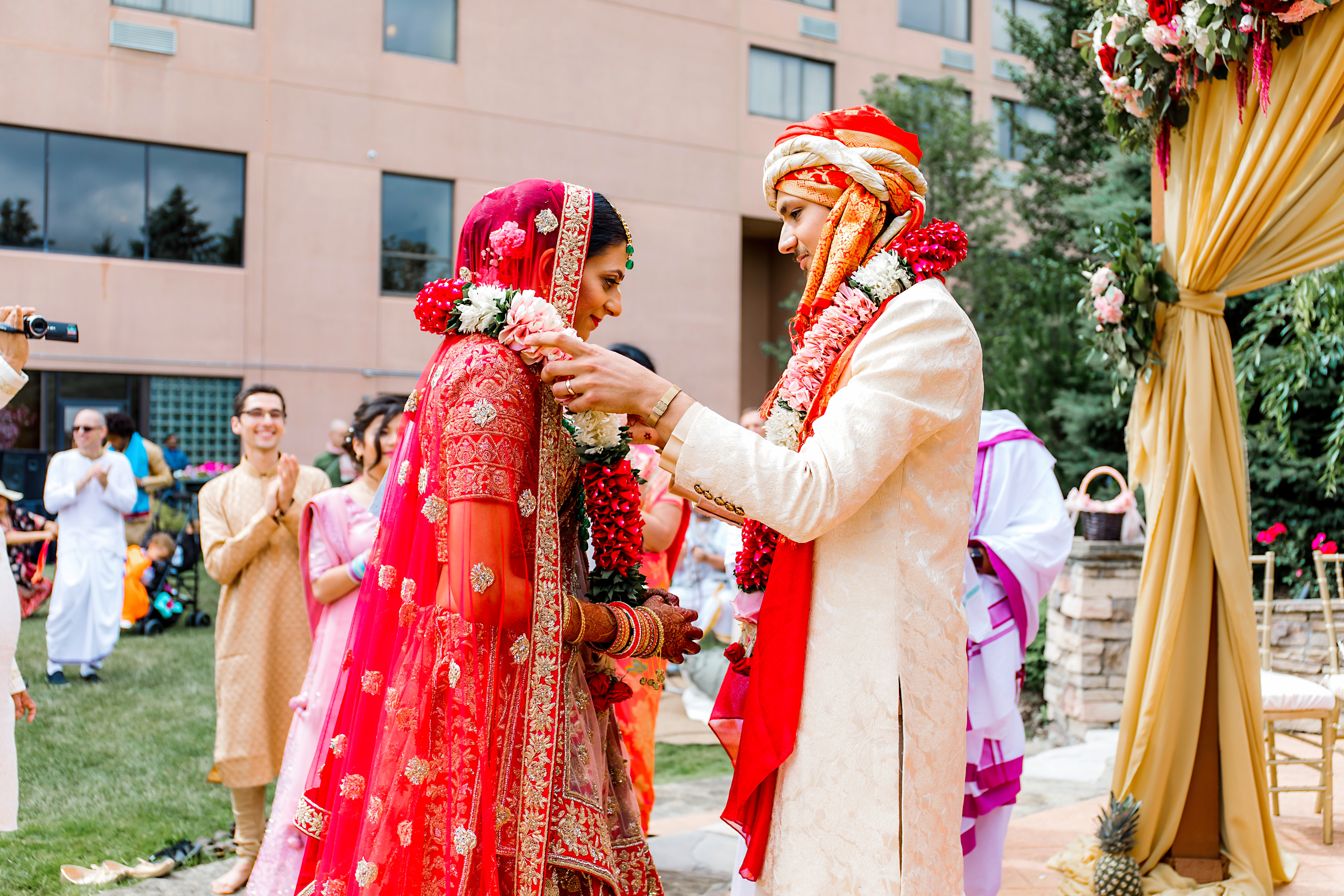 Luxury Indian wedding photographer in America