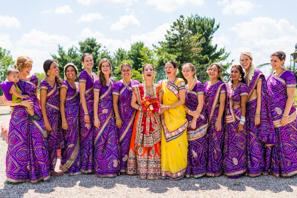 Indian wedding at the Palace of Gold, New Vrindaban